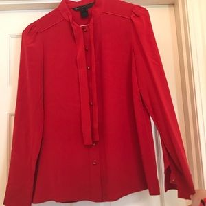 Marc Jacobs Red Silk Blouse ❤️❤️